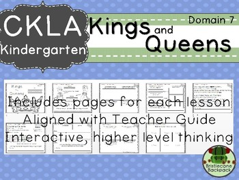 CKLA  Domain 7 Kindergarten Kings and Queens Companion Booklet TEAM LICENSE