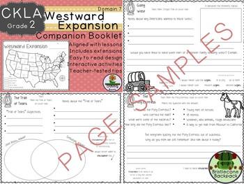CKLA  Domain 7 Second Grade Westward Expansion Companion Booklet