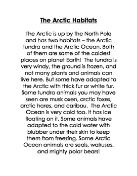 CKLA Domain 8: Animals and Habitats {First Grade}