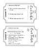 CKLA Domain 8 Insects Exit Tickets
