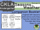 CKLA Domain 8 Kindergarten Seasons and Weather Companion Booklet