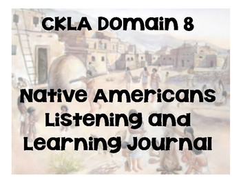 CKLA Domain 8 Native Americans