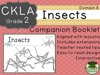 CKLA  Domain 8 Second Grade Insects Companion Booklet