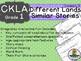 CKLA  Domain 9 First Grade Fairy Tales Companion Booklet