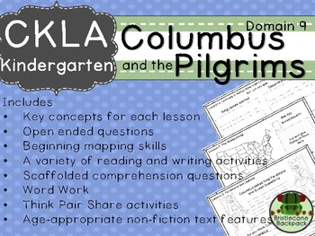 CKLA Domain 9 Kindergarten Columbus and the Pilgrims Companion Booklet