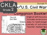 CKLA  Domain 9 Second Grade U.S. Civil War Companion Booklet TEAM LICENSE