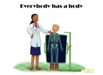 CKLA Domain2 Everybody has a body