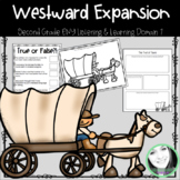 CKLA/ENY Westward Expansion, Grade 2, Domain 7 Listening Journal