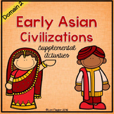 Early Asian Civilizations Supplemental Activities