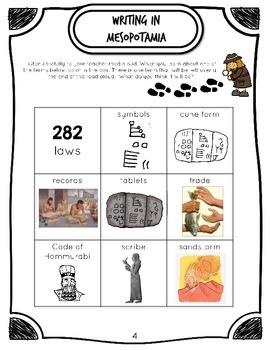 CKLA Early World Civilizations, Grade 1, Active Listening Journal