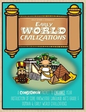 CKLA Early World Civilizations, Grade 1, Active Listening Journal