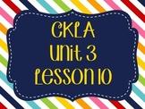 CKLA / EngageNY Unit 3 Lesson 10 Flipchart