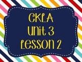 CKLA / EngageNY Unit 3 Lesson 2 Flipchart