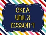 CKLA / EngageNY Unit 3 Lesson 4 Flipchart