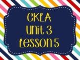 CKLA / EngageNY Unit 3 Lesson 5 Flipchart