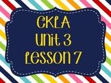 CKLA / EngageNY Unit 3 Lesson 7 Flipchart