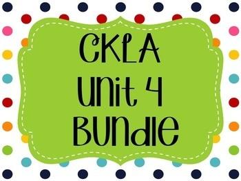 CKLA / EngageNY Unit 4 Flipcharts Bundle
