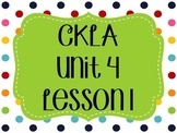 CKLA / EngageNY Unit 4 Lesson 1 Flipchart