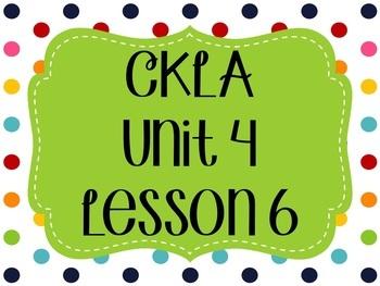 CKLA / EngageNY Unit 4 Lesson 6 Flipchart