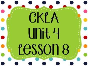 CKLA / EngageNY Unit 4 Lesson 8 Flipchart