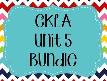 CKLA / EngageNY Unit 5 Bundle