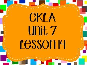 CKLA / EngageNY Unit 7 Lesson 14 PowerPoint