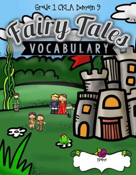 CKLA Fairy Tales Vocabulary Packet, Grade 1