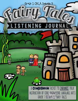 CKLA Fairy Tales Active Listening Journal, Grade 1