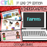 CKLA Listening and Learning PowerPoint: Farms Domain