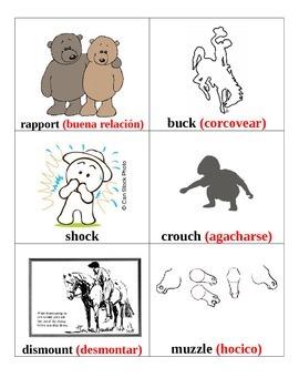 CKLA Fifth Grade Vocabulary Cards Unit 1 Bilingual