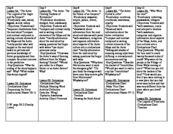 CKLA First Grade Domain 5 Unit Plans
