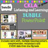 CKLA First Grade Listening and Learning Bundle  (Amplify, EngageNY)