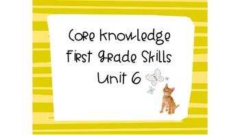 CKLA First Grade Skills Unit 6 Bundle Pack