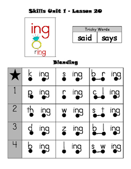 CKLA First Grade Skills Unit 1 Lesson 20 - Leveled Decoding and Fluency Practice