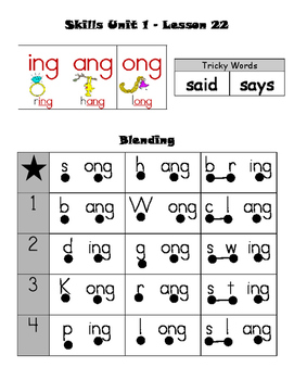 CKLA First Grade Skills Unit 1 Lesson 22 - Leveled Decoding and Fluency Practice
