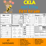CKLA First Grade Skills: Work and Play Unit 2 (Amplify, EngageNY)