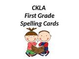 CKLA First Grade Spelling Cards