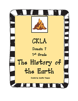 CKLA First Grade The History of The Earth Domain 7
