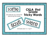 CKLA First Grade Tricky Words