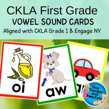 CKLA First Grade Vowel Sound Cards