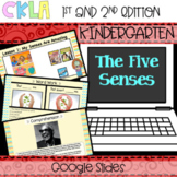 CKLA PowerPoint: Five Senses (Amplify, EngageNY) Distance Learning