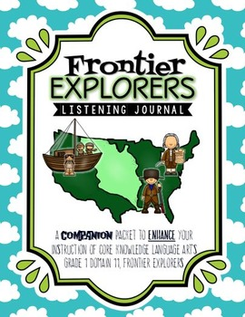 CKLA Frontier Explorers Listening Journal, Grade 1