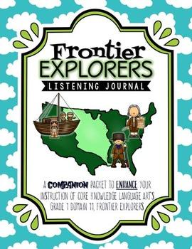CKLA Frontier Explorers Listening Journal, Grade 1