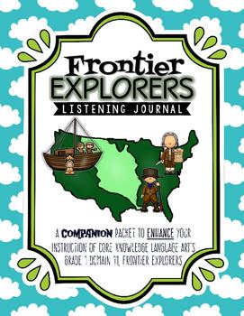 CKLA Frontier Explorers Listening Journal Lessons 1-4