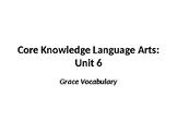 CKLA - Grace Vocabulary Words