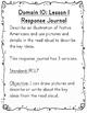 CKLA Grade 1 Domain 10 Reading Response Journal