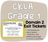 CKLA Grade 1 Domain 2 Exit Tickets