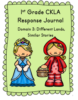 CKLA Grade 1 Domain 3 Reading Response Journal