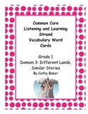 CKLA Grade 1 Domain 3 Similar Stories Different Lands Voca