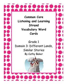 CKLA Grade 1 Domain 3 Similar Stories Different Lands Voca